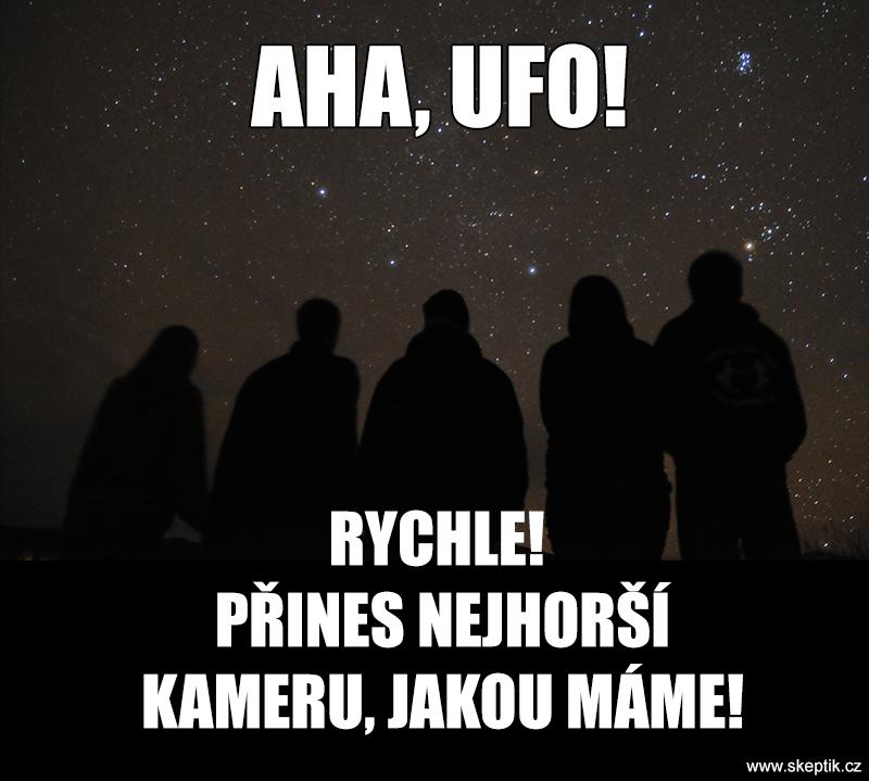 Prokazatelné natočení UFO