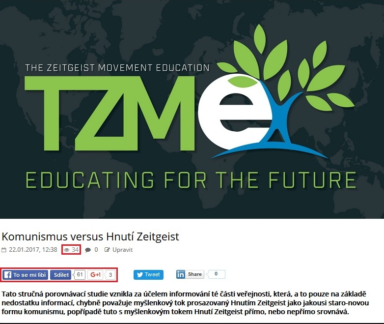 Hnutí Zeitgeist, vzdělávání pro budoucnost