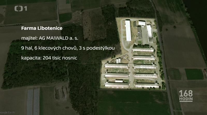 Kapacita nosnic farma Libotenice