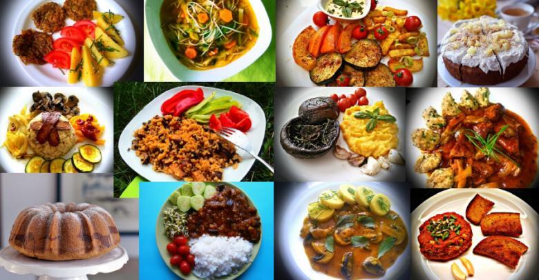 Příklady vegan jídel