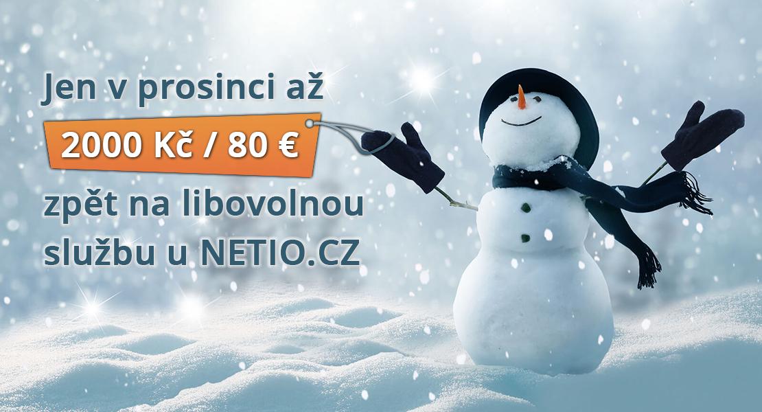 Akce NETIO.CZ prosinec 2018