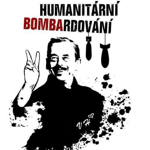 Václav Havel a humanitární bombardování