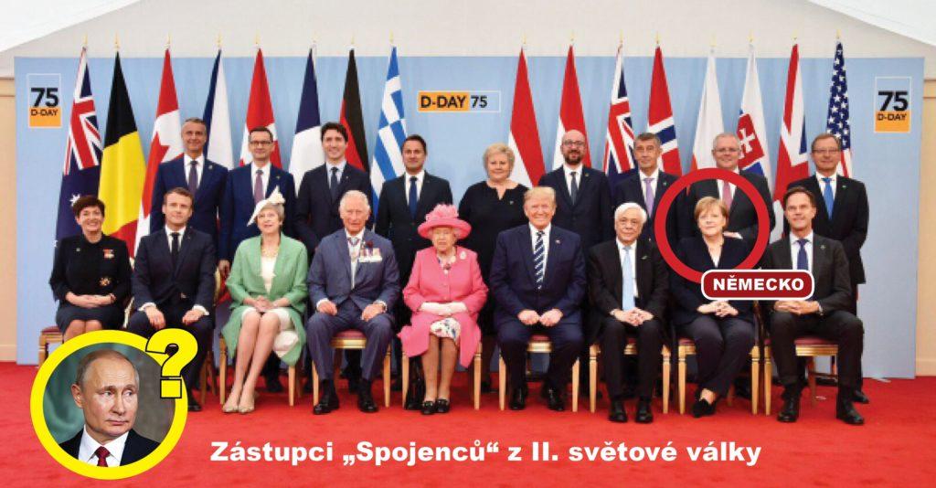 Zástupci spojenců z WWII